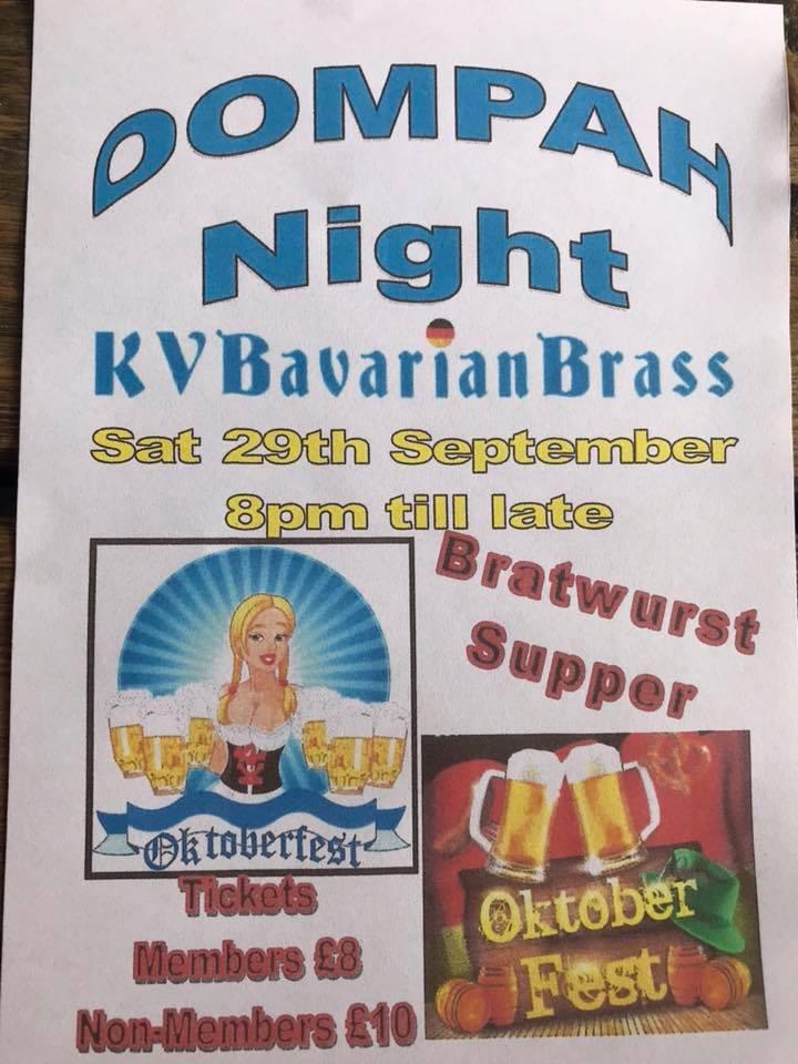 Oktoberfest Oompah Night