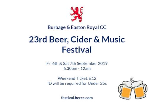 Burbage Beer Festival